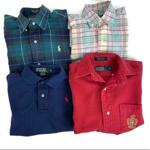 Polo by Ralph Lauren set of 4 shirts
